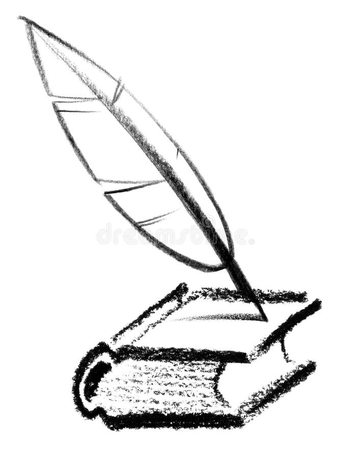 Writer icon vector illustration