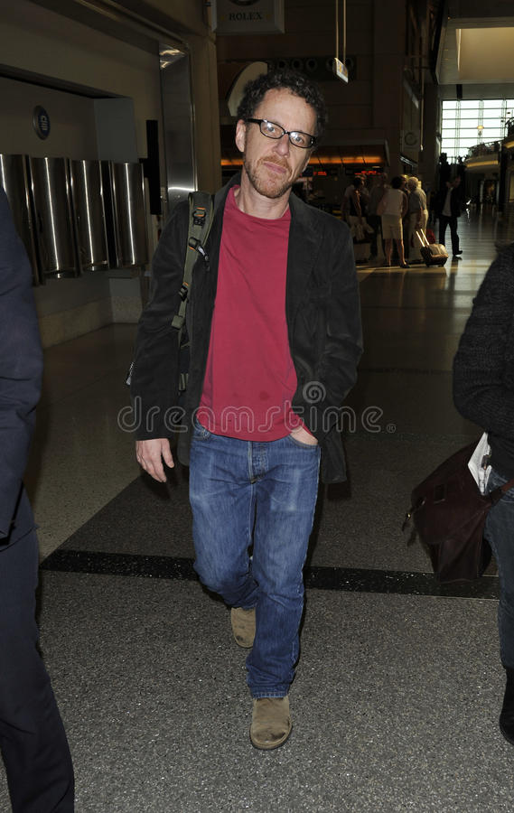 Download Writer Producer Ethan Cohen Is Seen At LAX Editorial Photography - Image: 18905752