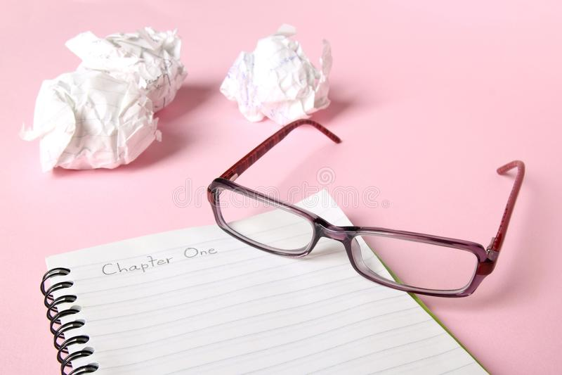 Writer's block stock images