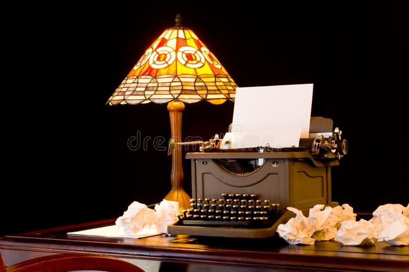 Writer's Block royalty free stock photos