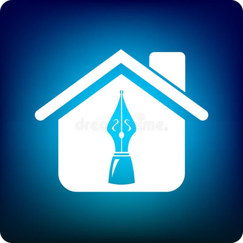Download Writer's guild stock vector. Illustration of home, artist - 4672584