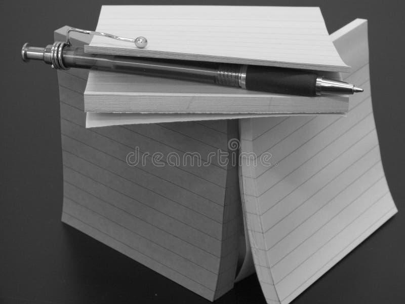 Writers block stock photo