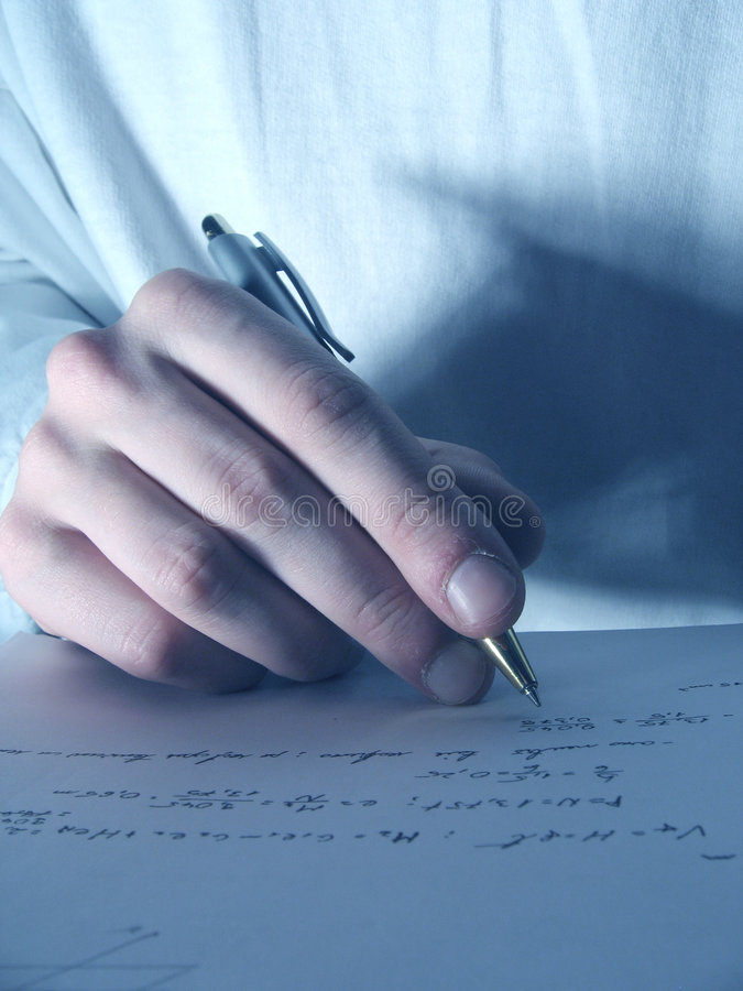 Download Writing 1 stock photo. Image of fingers, hand, student - 514952