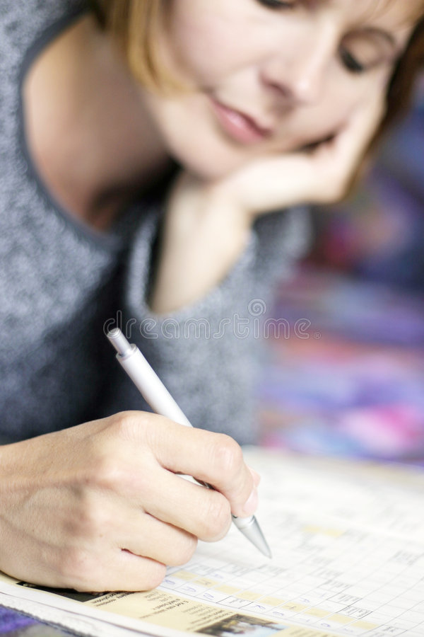 Writing royalty free stock image