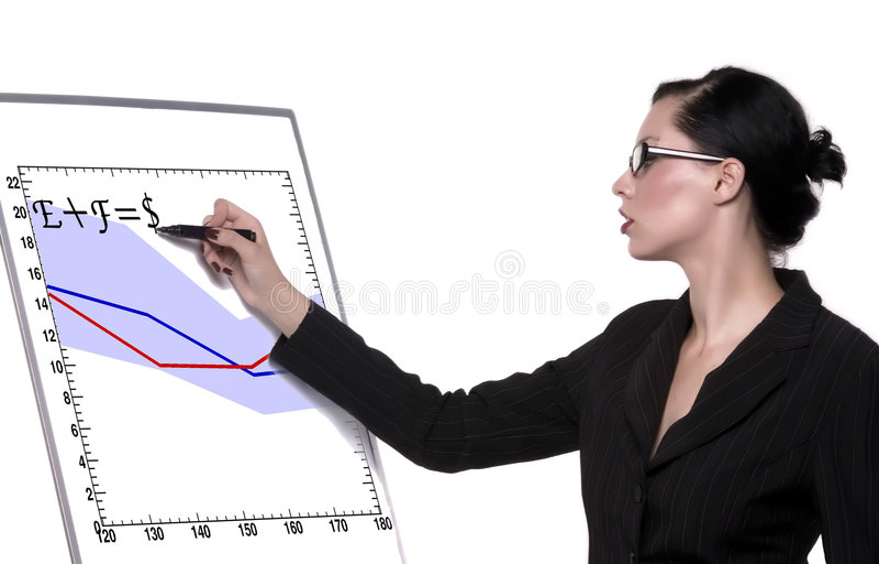 Writing stock image