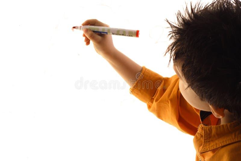 Download Writing stock image. Image of plan, background, orange - 4819661