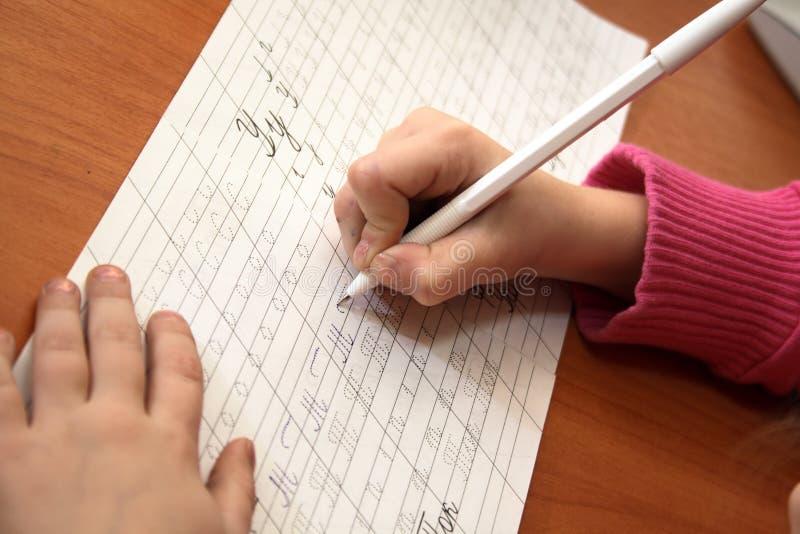 writing arkivfoto