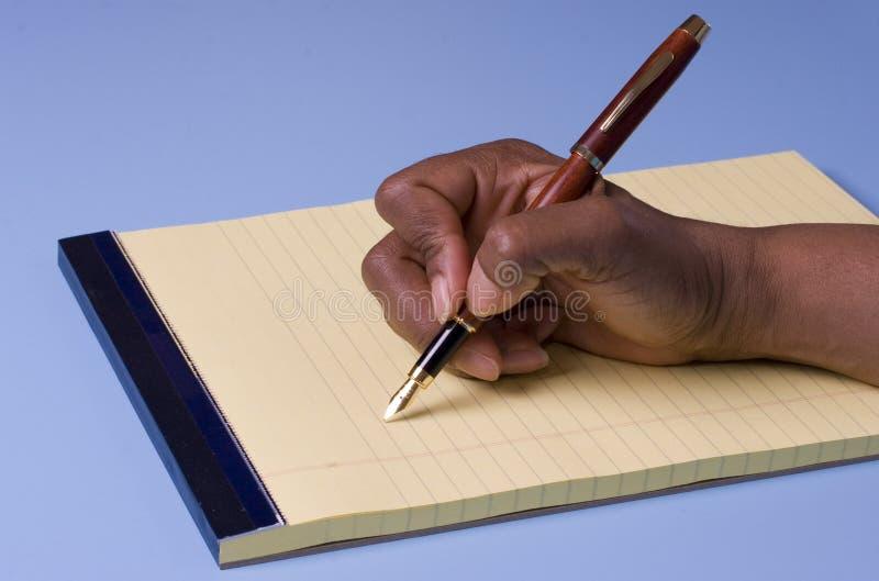 writing royaltyfria foton