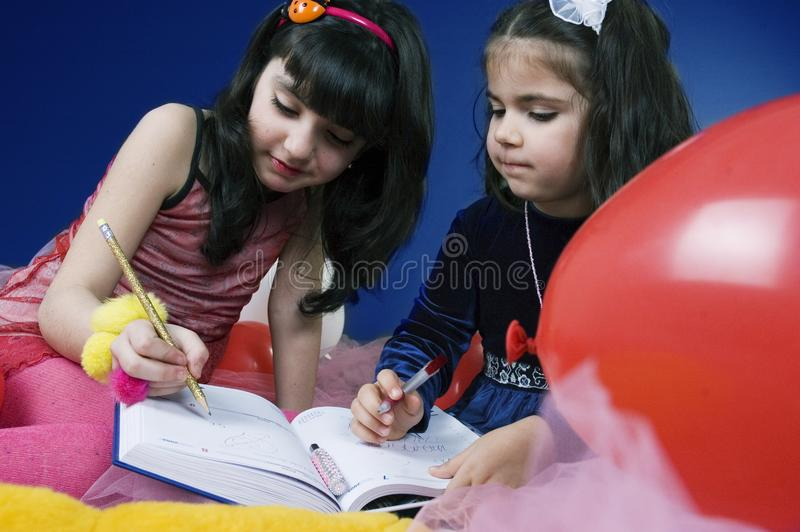 Download Writing in an agenda stock photo. Image of expression, gils - 619694