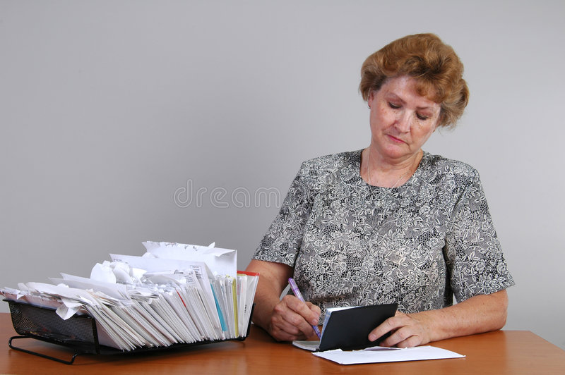 Download Writing a Check stock image. Image of finance, letter, book - 744117
