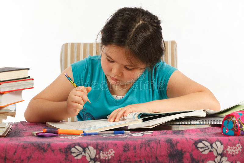 Download Writing Homework Royalty Free Stock Photography - Image: 21117647