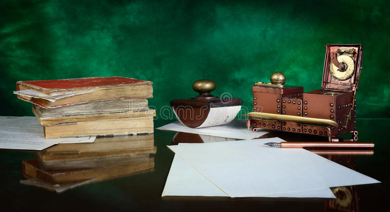 Writing implements royalty free stock image