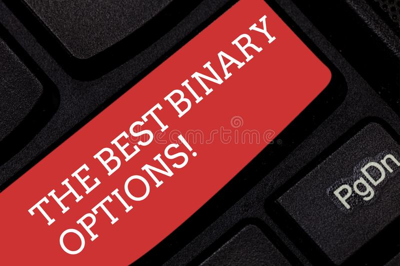 Key binary options