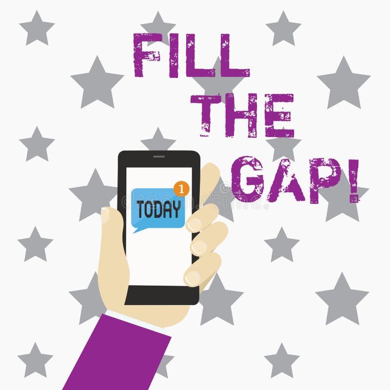 Fill Gap Stock Illustrations – 101 Fill Gap Stock