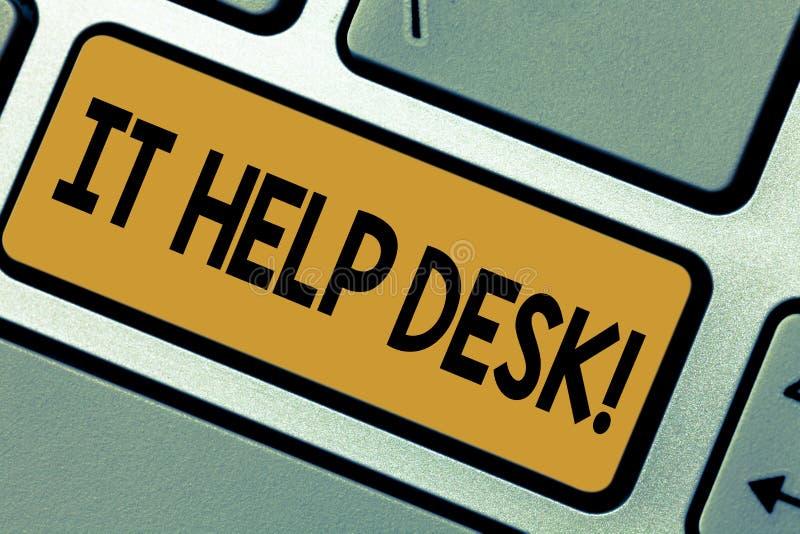 Help desk essay