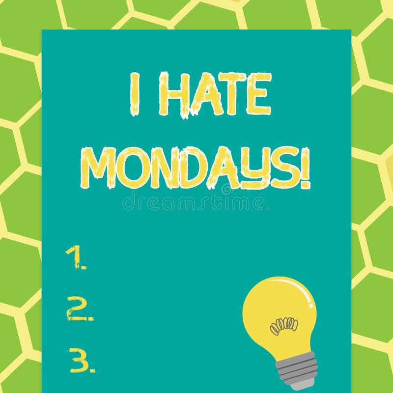 Mondays Stock Illustrations
