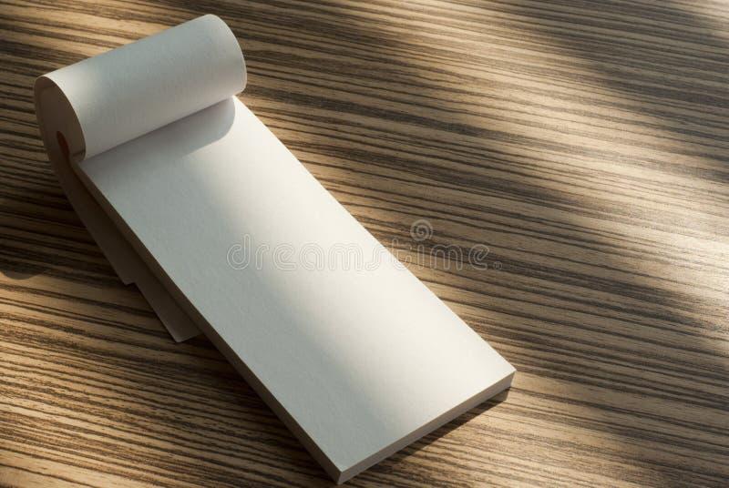 Writing pad royalty free stock photography