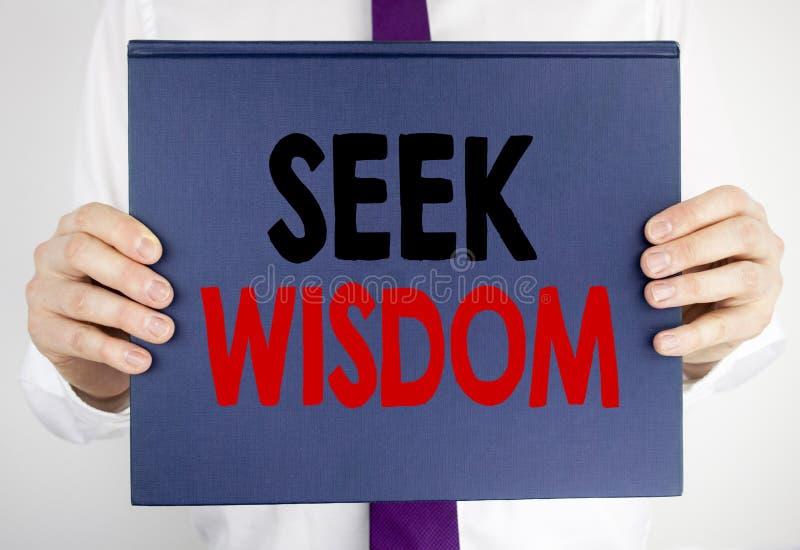 Writing teksta seansu aport mądrość Biznesowy pojęcie dla inspiraci wiedzy pisać na książkowego notatnika papierowym mieniu mężcz zdjęcie royalty free