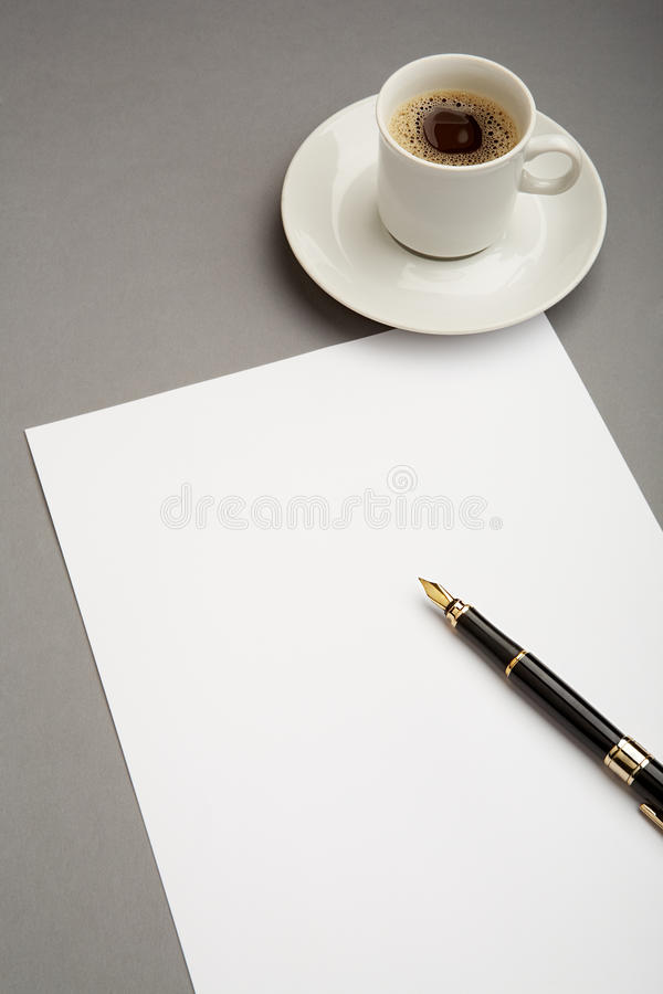 Download Written work stock photo. Image of announcement, objects - 17315502