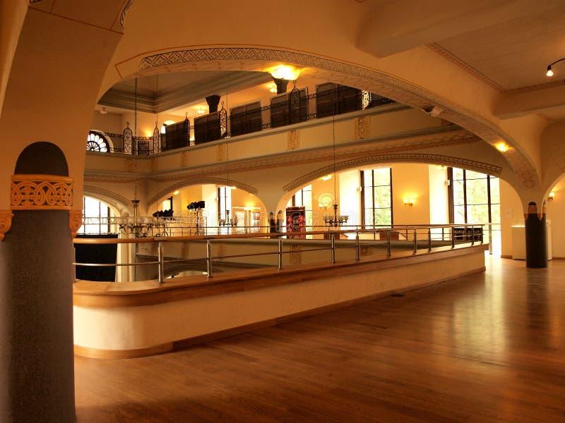 wroclaw белизны синагоги аиста Польши стоковое фото rf