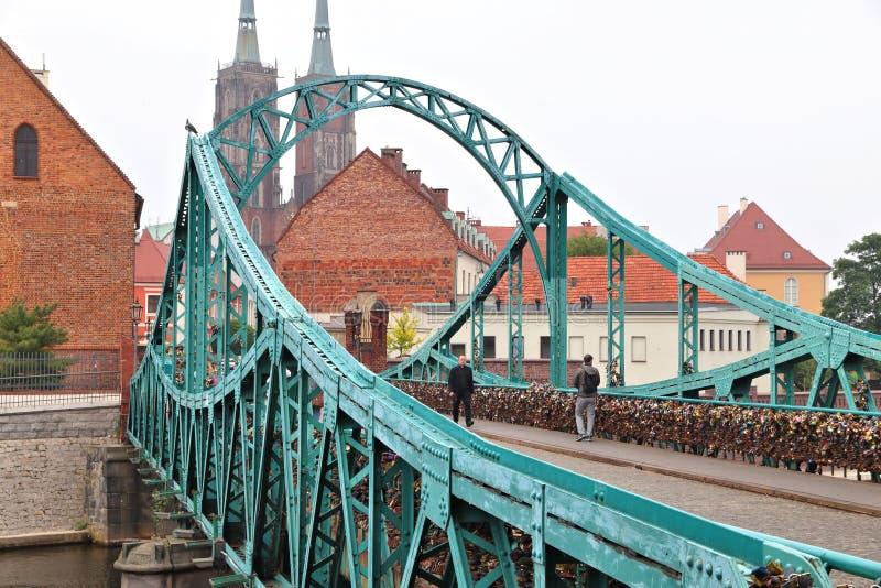 wroclaw Польши стоковая фотография