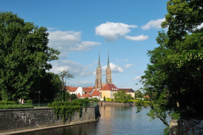 wroclaw Польши стоковое изображение