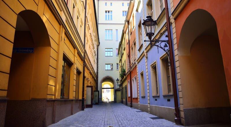 Wroclaw - старый городок, Польша, Европа стоковые фотографии rf
