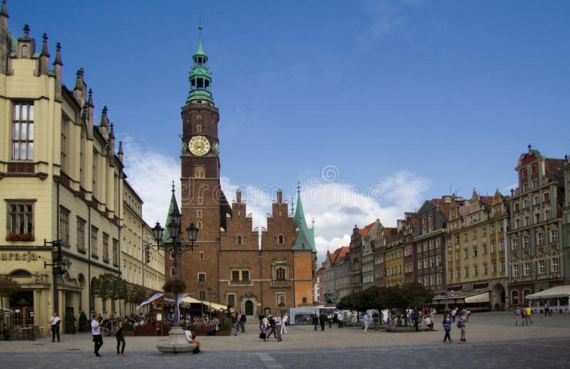 Wroclaw stock foto