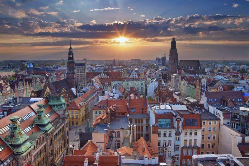 wroclaw photos libres de droits