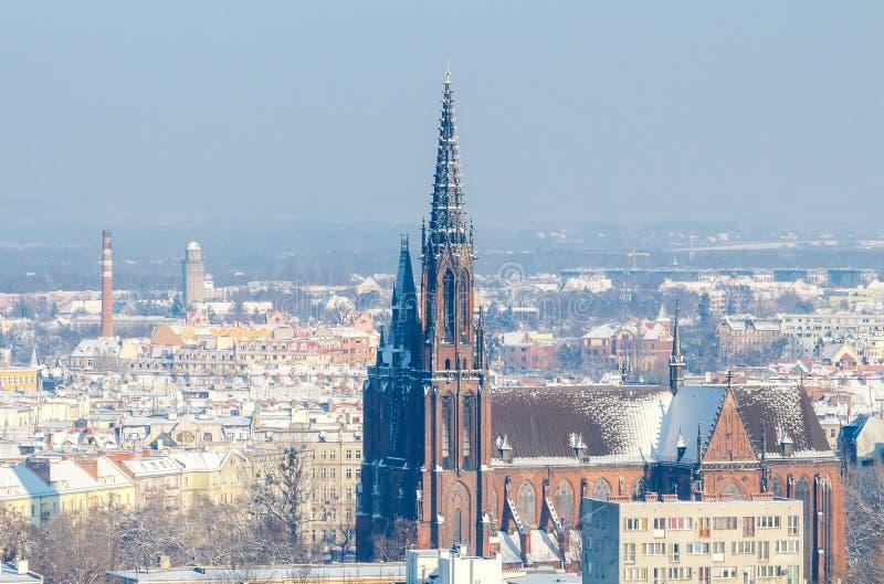 wroclaw Cattedrale di St John immagine stock libera da diritti
