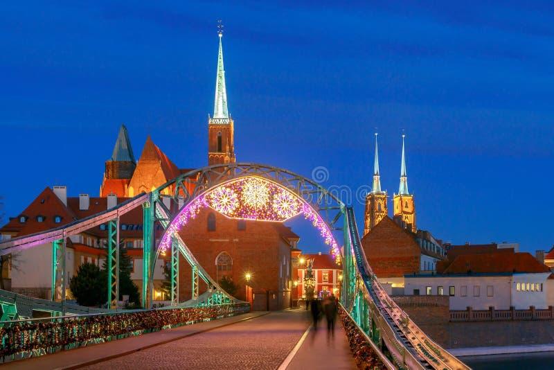 wroclaw Cattedrale di St John fotografia stock libera da diritti