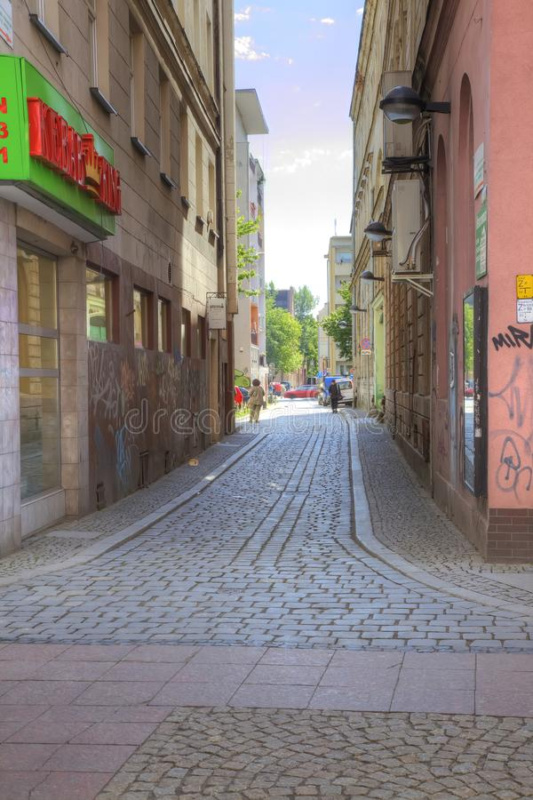 Wroclaw, cityscape royalty-vrije stock afbeelding