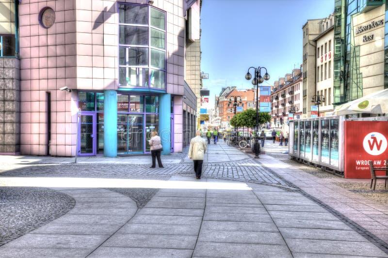 Wroclaw, cityscape royalty-vrije stock foto's