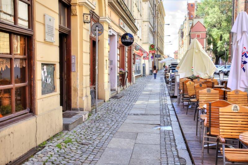 Wroclaw, cityscape royalty-vrije stock fotografie