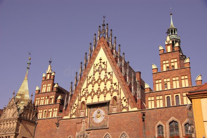 Wroclaw en Pologne photographie stock