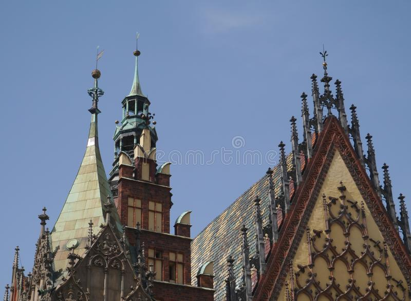 Wroclaw en Pologne images stock