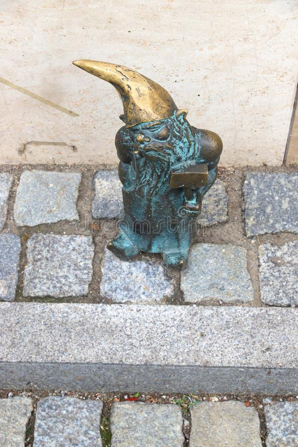 Wroclaw gnome royalty-vrije stock afbeelding