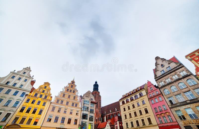 Wroclaw, Polônia na região de Silesia fotos de stock