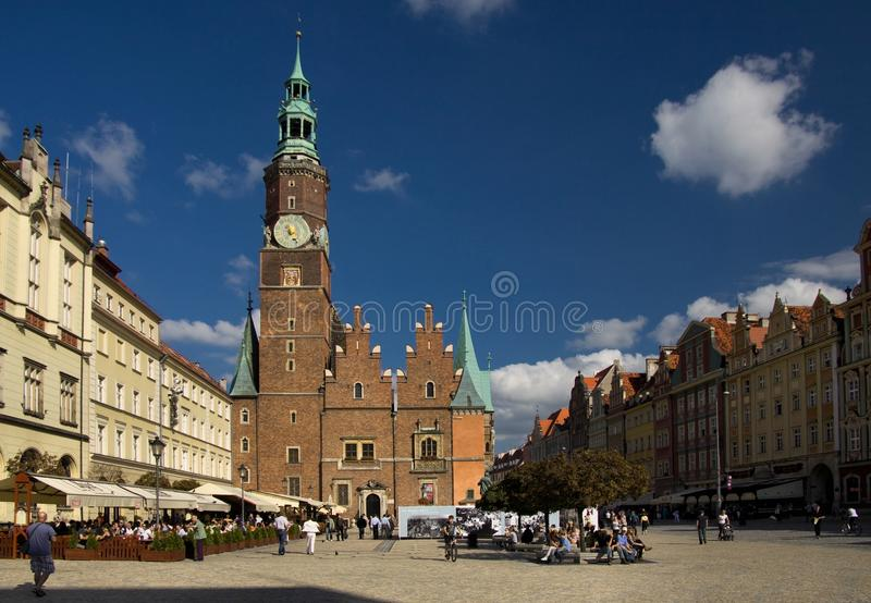 Download Wroclaw in Poland editorial stock photo. Image of landmarks - 23581758