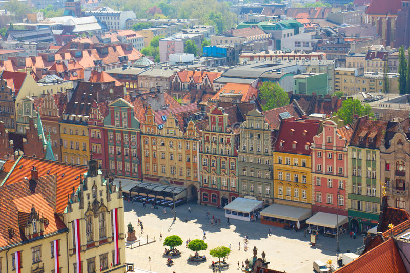 Wroclaw, Poland royalty free stock photography