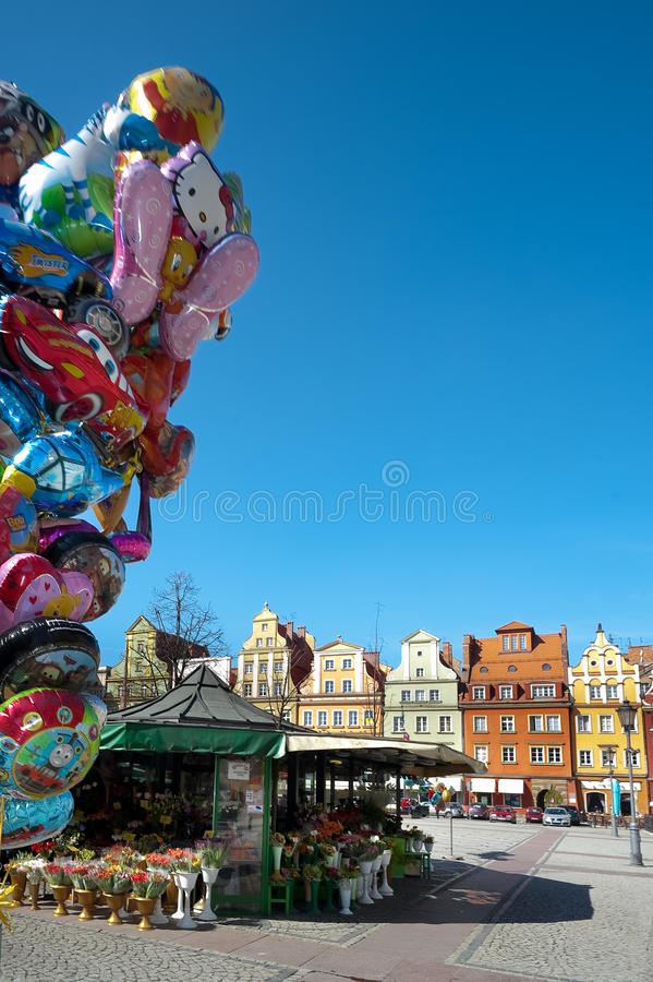 Download Wroclaw Poland, Town Market Square Editorial Photography - Image: 25178517