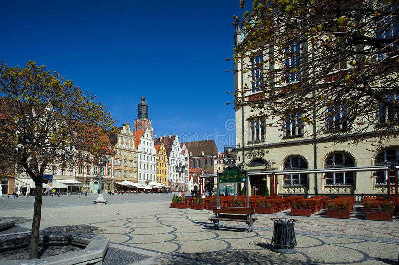 Download Wroclaw Poland, Town Market Square Editorial Photo - Image: 25178526