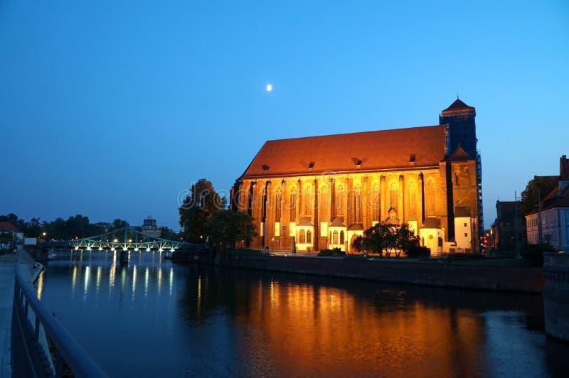 Wroclaw Polen - europeisk huvudstad av kultur 2016 arkivfoto