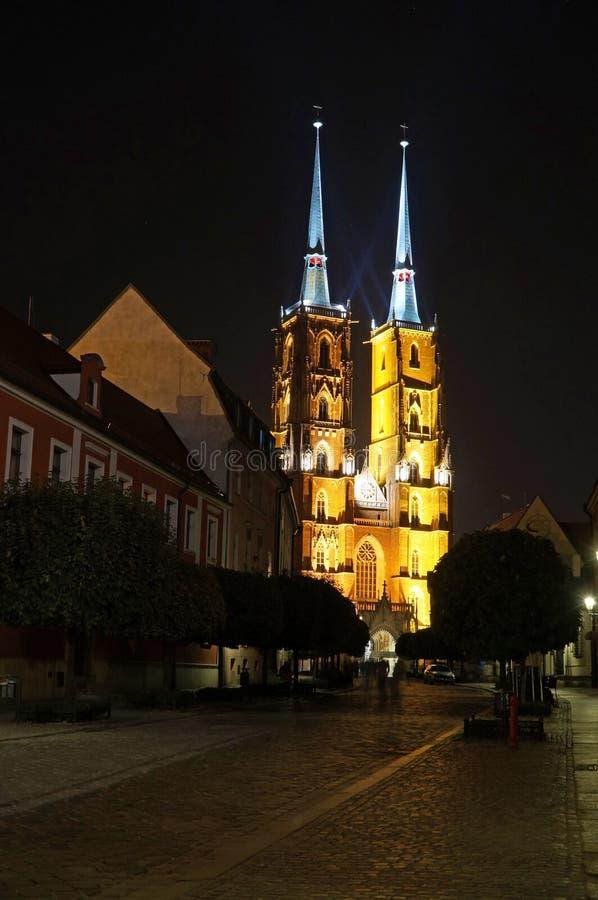 Wroclaw Polen - europeisk huvudstad av kultur 2016 royaltyfri fotografi