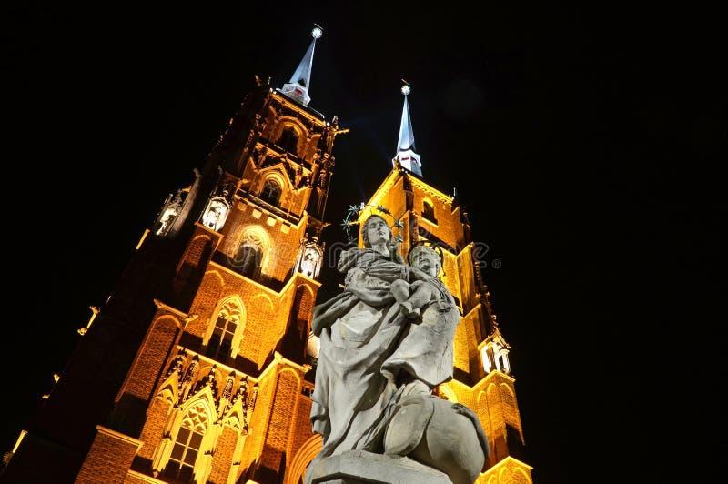 Wroclaw Polen - europeisk huvudstad av kultur 2016 royaltyfria foton