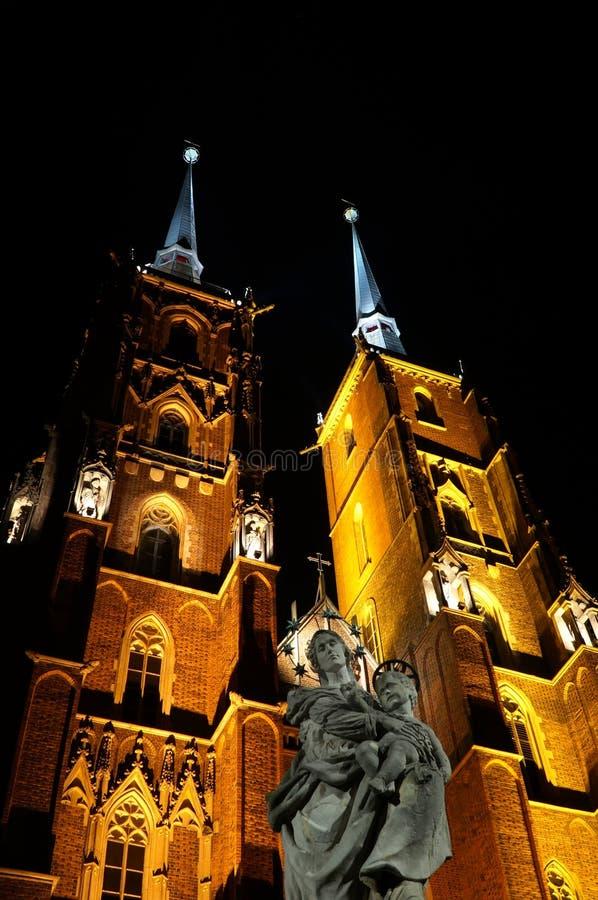 Wroclaw Polen - europeisk huvudstad av kultur 2016 arkivfoton