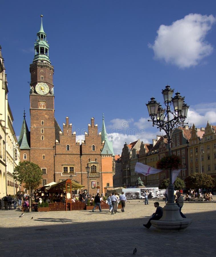 Wroclaw in Polonia immagini stock