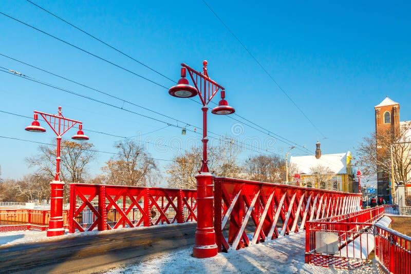 wroclaw Sandy Bridge immagini stock libere da diritti