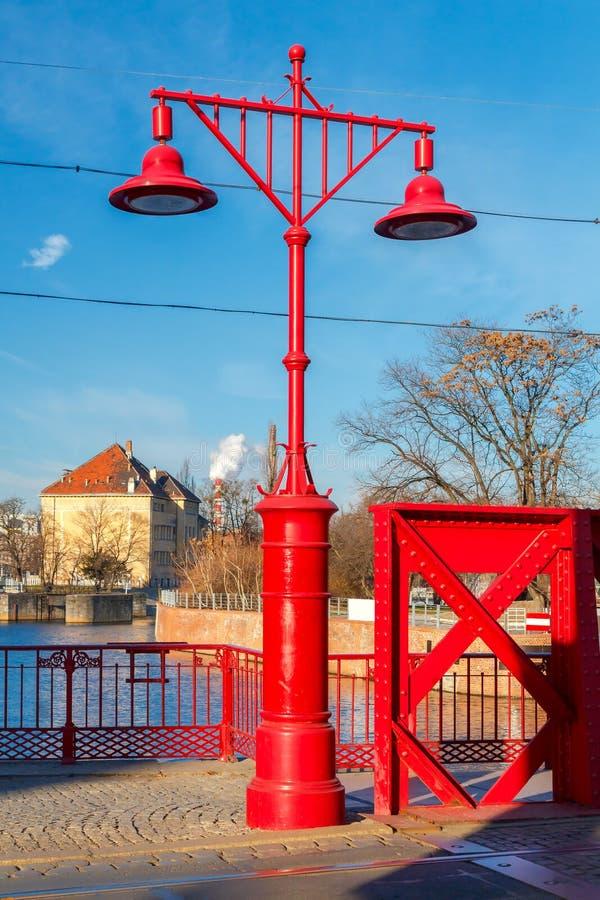wroclaw Sandy Bridge immagine stock libera da diritti