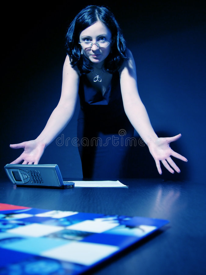 Wrong figures royalty free stock photo